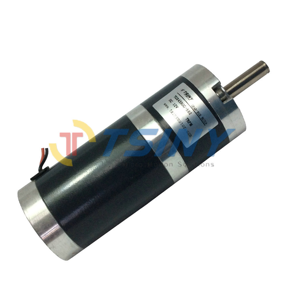 Dc gear motor high torque 45mm dia 12v 7rpm dc geared Dc planetary gear motor