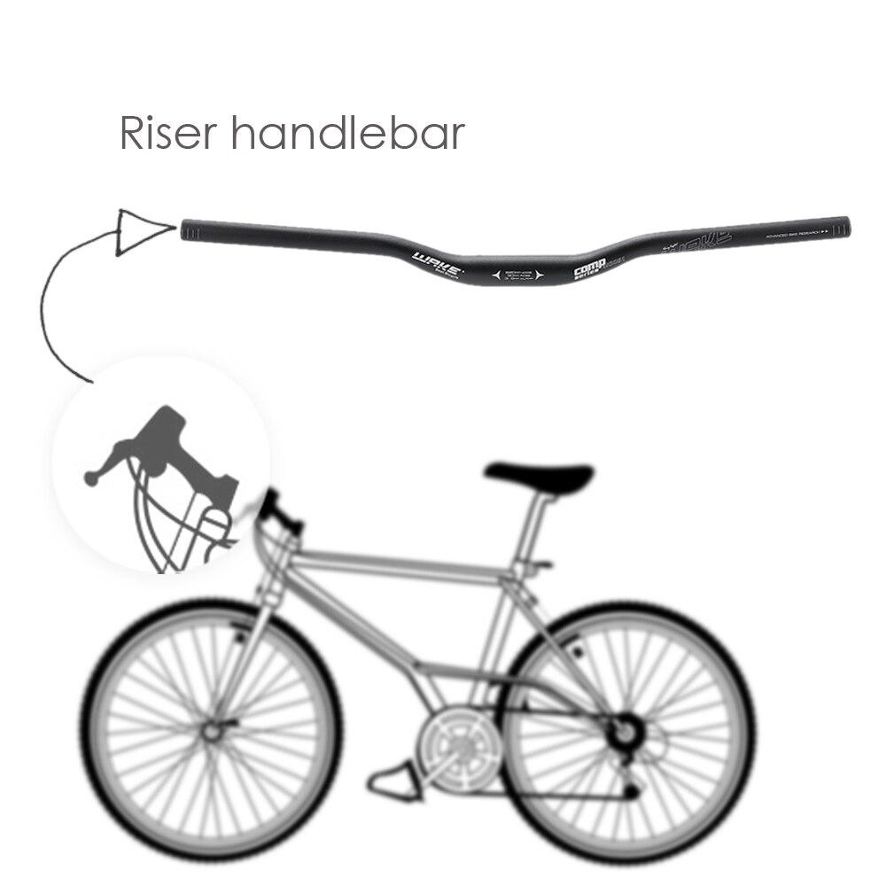 7075 Aluminum MTB Mountain Bike Handlebar Bicycle Riser Bar 31.8*780mm Handlebar