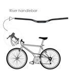 31.8 * 620mm Bicycle...