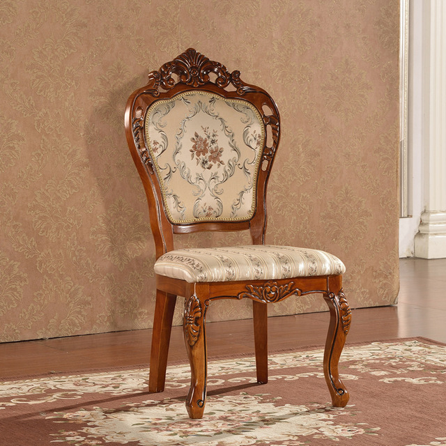 new design Dining Chair in solid wood Finish European Style, 1 pcs ...