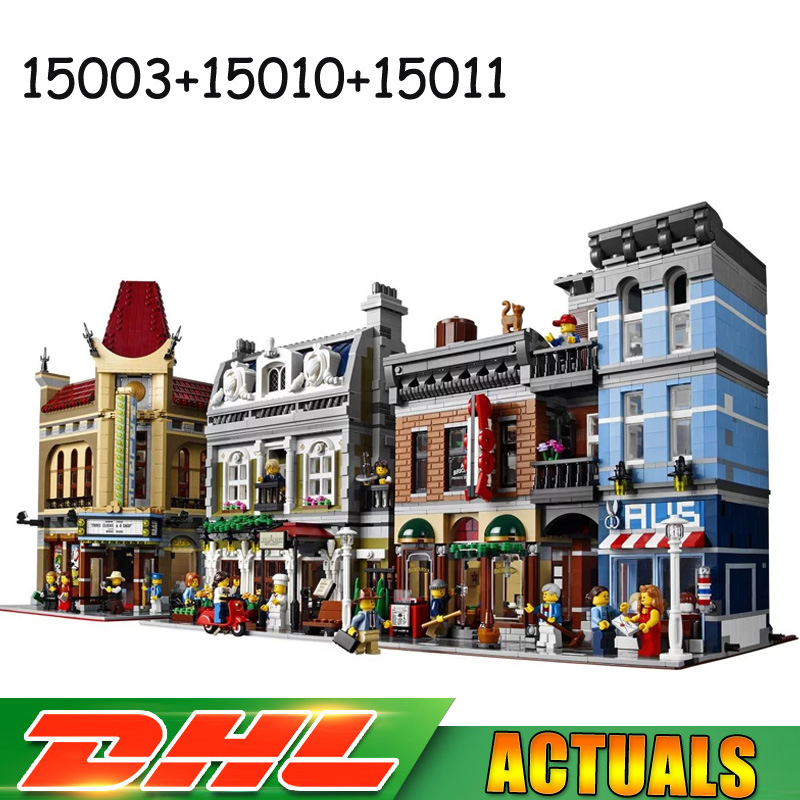 Lepin 15003 Town Hall 15010 Parisian Restaurant 15011 Detectives Office Model Bricks Toy Compatible LegoINGlys 10224 10243 10246 сольфеджио i iv класс пение с листа