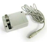 Adaptador de corriente de cargador de pared de viaje AC para DSi XL 3DS genérico US 5 unids/lote