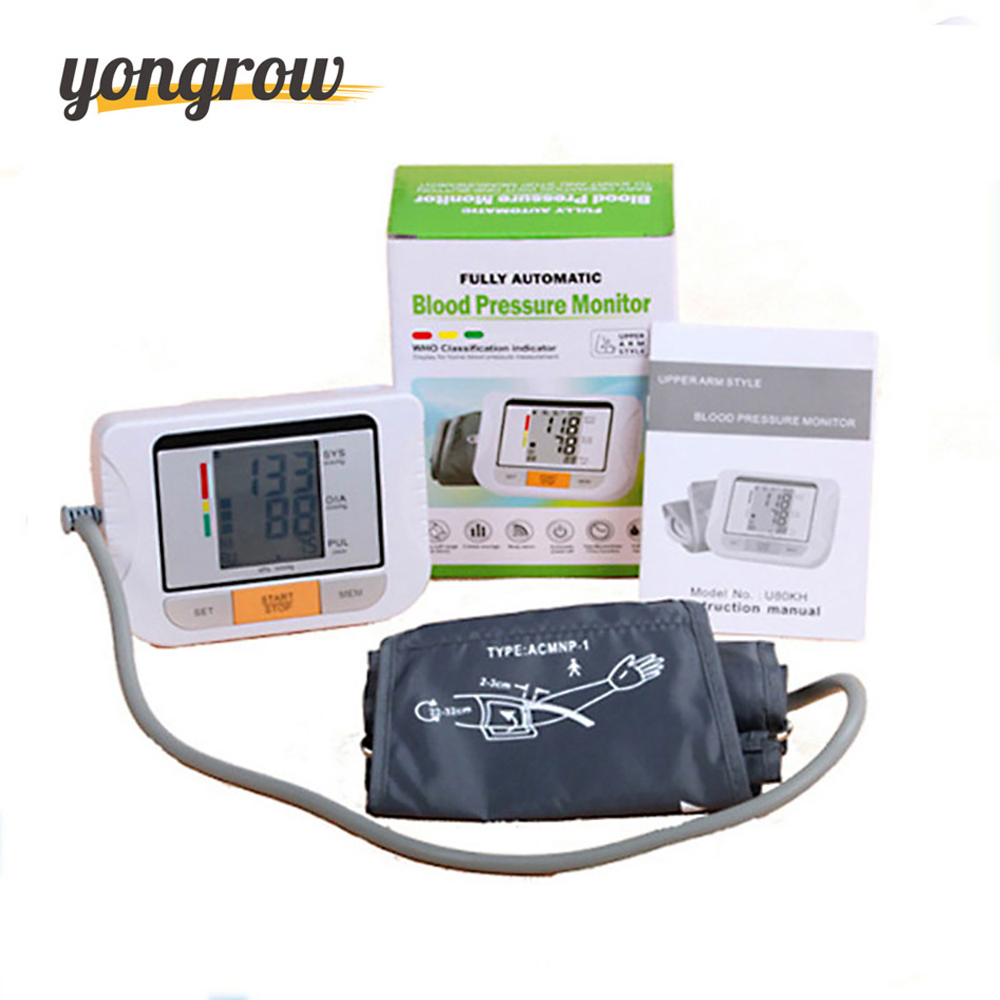 Yongrow Blood Pressure Monitor Tonometer Fully Automatic Digital Upper Arm Blood Pressure Monitor BP Monitor blood water