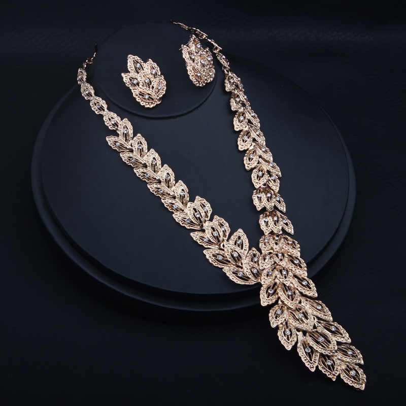 ARMNVNV Nigerian 4PCS Wedding Jewelry Set For Women African Dubai Silver Gold Color Indian Wedding Jewelry Sets Brides Jewellery