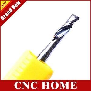 Image 5 - Os 5 pces duráveis 3.175x12mm escolhem ferramentas de millinging da extremidade da flauta para cortar o alumínio, cortadores afiados dos bocados do roteador do carboneto para o gravador