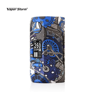 Image 2 - Vapor Storm Storm230 Bypass 200W VW TCR Electronic Cigarette RDA RDTA Box Mod Vapes Fashion Mod Support Dual 18650 Battery