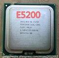 Оригинальный Процессор Intel Pentium Dual-Core E5200 Процессор (2.5 ГГц/2 М/800 ГГц) Гнездо 775 (рабочая 100% Бесплатная Доставка)