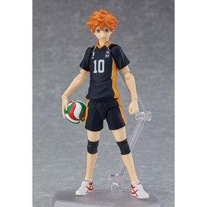 Image 2 - Haikyuu!! כדורעף ספורטאי Hinata Syouyou Shoyo Figma 358 PVC פעולה איור אוסף דגם צעצועי בובה