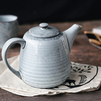 Water Pot Ceramic Water Jugs Pot Teapot Large Capacity