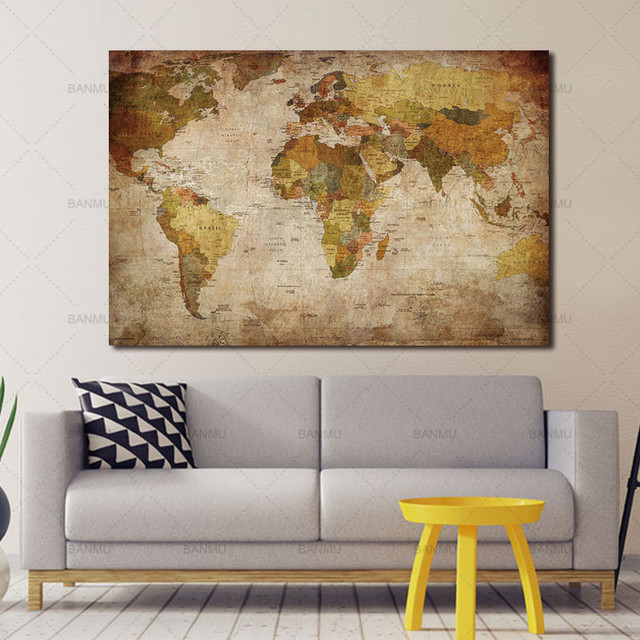 Canvas Painting Oil Painting Print On Canvas Home Decor Wall Art 1 ...