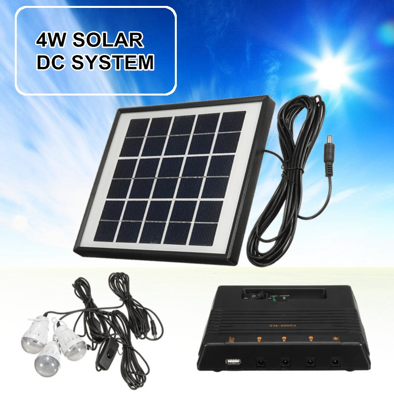 New Arrival Home Small DC Solar Panels Charging Generator Power generation System 3.7V Energy LED Lighting Power Supply System cheaper hot sell solar energy small lighting system emergency lighting for camping boat yacht free shipping