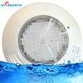 24 W 36 W bajo el agua luces AC/DC 12 V natación piscina LED lámpara IP68 Led resistente al agua fuente de iluminación RGB blanco luz exterior