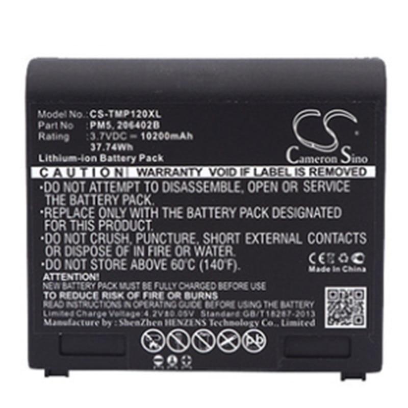 10200mAh batterie pour Trimble Mobile Mapper 100 120 ProMark 200 220 Geo 5T GeoExplorer 5 GPS nouveau Li-Ion Rechargeable remplacer 3.7V