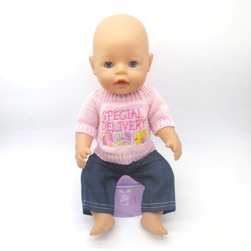 Free shipping dolls clothes for 43 cm zapf babies, children the best ...