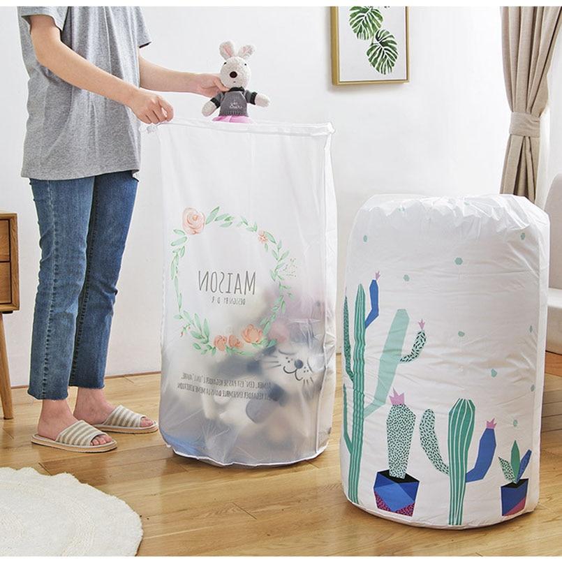 Большая сумка-Органайзер для хранения, Упаковочная Сумка для одежды, игрушек, одеял, шкафов, сумок для хранения одежды, подушек, одеял, посте...