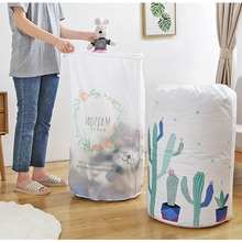 Large Organizer Storage Bag Clothes Packaging Toy Packing Bag Quilt Closet Clothing Storage Bags For Pillow Blanket Bedding