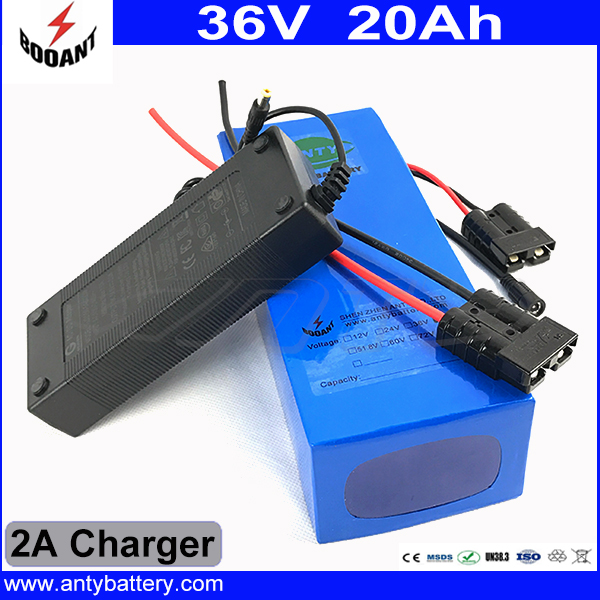 Electric Bicycle Battery 36v 20Ah 800W Lithium Scooter Battery 36V with 2A charger 20A BMS 36v Battery Pack e Bike Battery 36v free customs taxes super power 1000w 48v li ion battery pack with 30a bms 48v 15ah lithium battery pack for panasonic cell