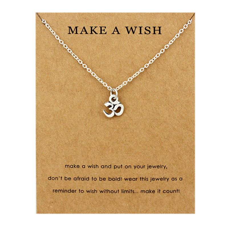 51ebe1d86f84 Fashion Jewelry New Arrived GOOD KARMA Buddha Lotus Pendant Necklace For  Women Wholesale