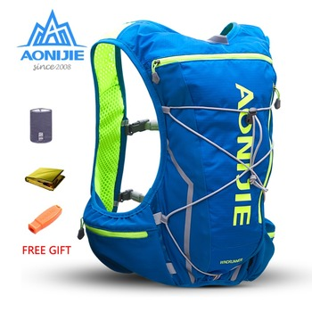 AONIJIE E904S 10L Hydration Pack Backpack Rucksack Bag Vest Harness Water Bladder Hiking Camping Running Marathon Race Sports - discount item  30% OFF Sport Bags