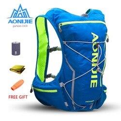 AONIJIE E904S 10L Paquete de hidratación mochila bolsa chaleco arnés vejiga de agua senderismo Camping Running maratón carrera deportes