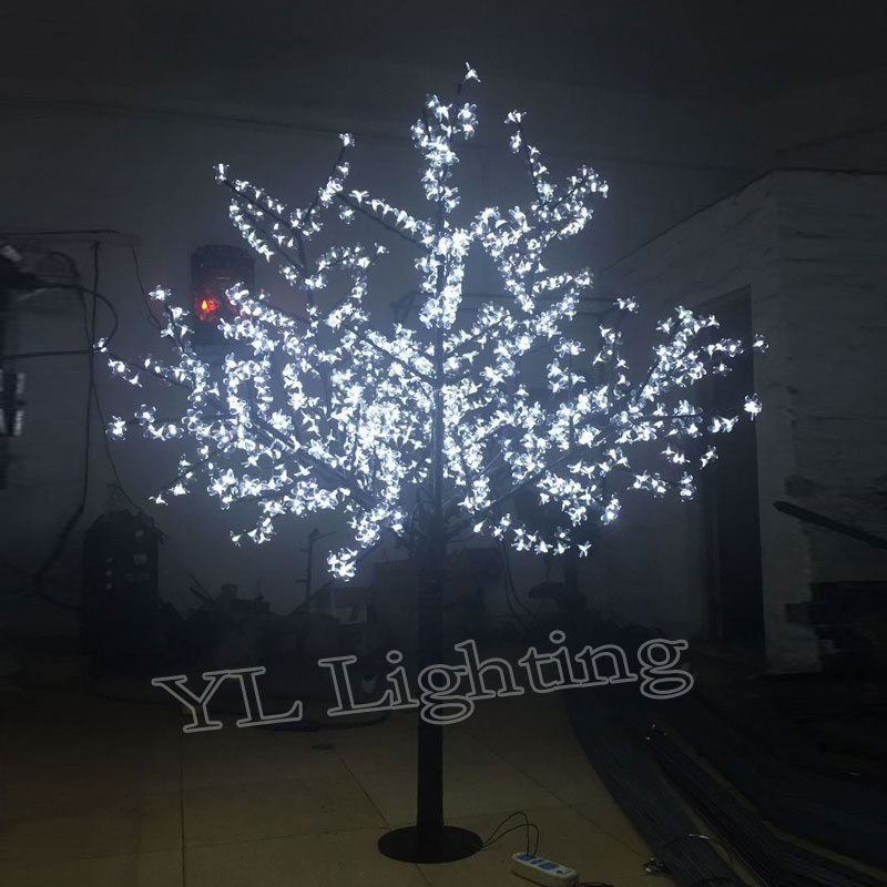 1 8Meters 960LEDS holiday lights decoration lights led cherry blossom light tree for Europe North America