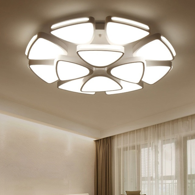 types of home lighting. Modern Disc Type Dimming LED Ceiling Lights Home Lamps \u0026 Business Lighting Fixtures 110- Types Of E