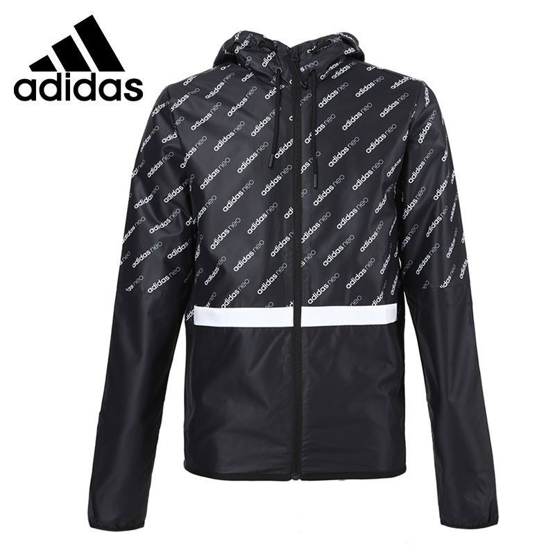 цены  Original New Arrival 2017 Adidas NEO Label M CS.AOP WB Men's  jacket Hooded Sportswear