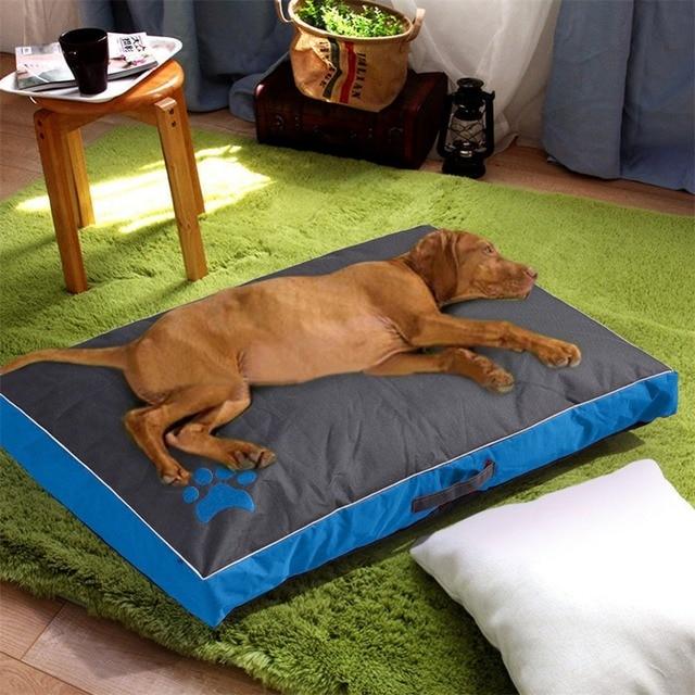 Łóżka dla psów duże psy domowa Sofa hodowla kwadratowa poduszka Husky Labrador Teddy duże psy dom dla kotów łóżka maty