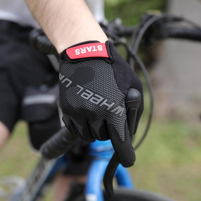 High Quality Outdoor Bicycle Cycling Gloves for Man Woman Winter Full Finger Sport Shock ...