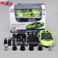 Maisto Aventador LP700-4 1:24 Scale Assembly Model Car Alloy Metal Diecast Car Toys High Quality Collection Baby Toys Gift