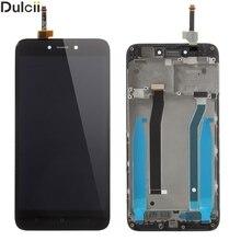 Dulcii Für Xiaomi Redmi 4X OEM Lcd-bildschirm und Digitizer + Montage Rahmen Teil Für Xiomi Redmi 4X Schwarz