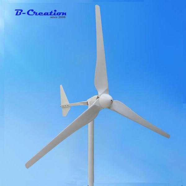 цена на Three Phase AC Output 2KW 2000W 220V Wind Generator/ Wind Turbine 3m/s Low Wind Speed Start 3 blade