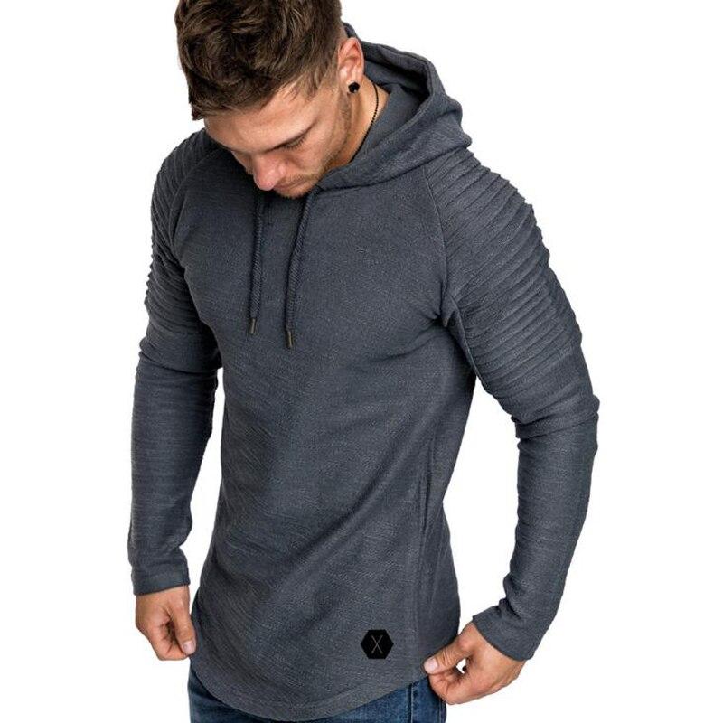 2018 neue Mens Hoodies Marke Einfarbig Sweatshirts Mode Männlichen Bambus Faser Hoodie Herbst Winter Hoodie Herren Lange-ärmeln
