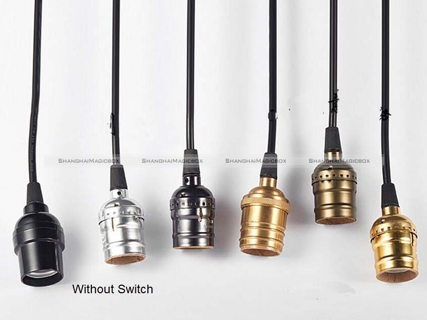 Ceiling Industrial Pendant Vintage E27 Screw Bulb Lamp