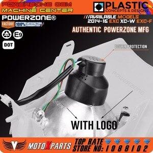 Image 3 - Powerzone Headlight Headlamp For KTM SX F EXC XCF SMR 2014 15 16 Motorcycle Dirt Bike MX Enduro Supermoto With H4 Bulb