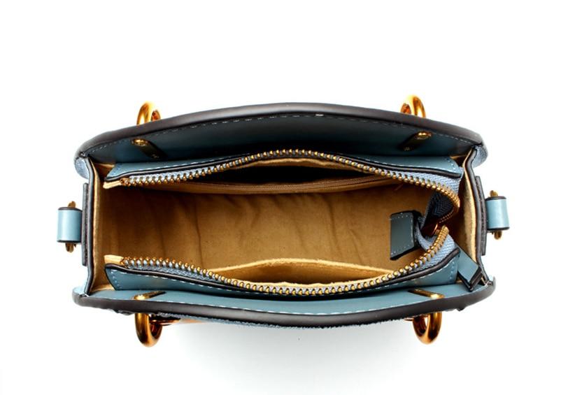 Nevenka Geniune Leather Shoulder Bag Female Round Bag Girls Circle Crossbody Bag for Women 201805