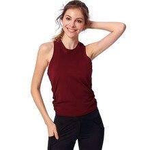 Open Back Sports Workout Women Yoga Top Gym Sports Vest Sleeveless Shirts Tank Tops Sport Top Fitness Women Running Clothes