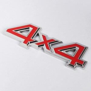 Image 4 - 1Pc Metallo 3D 4x4 Auto Car Sticker 4 Drive Emblema Distintivo per JEEP Patriot Wrangler Grand Cherokee bussola per Prado Car Styling