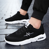 Summer Men Casual Shoes Beathable Mesh Male Casual Shoes Lace up Shoes Loafers man Super Light Casual Shoes 5