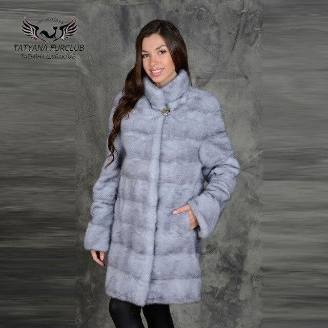 Mink Coat Value >> Tatyana Furclub Luxury Mink Coat Stand Collar Top New Real Value