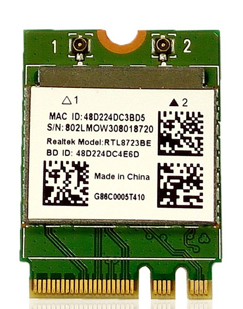 SSEA Новинка для Realtek RTL8723BE 802.11bgn 300mbps Беспроводная NGFF карта Wifi Bluetooth 4,0 для Asus/DELL/acer/Toshiba