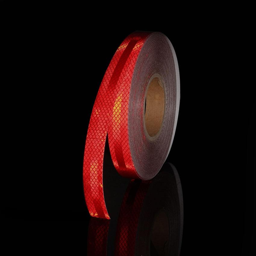 25x300CM 3M High Intensity Grade Reflective Tape With Diamond Strip Self Adhesive Stickers For Bike Truck Car Reflectors Helmet