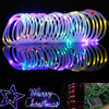 50 LED Waterproof Solar Rotatable Outdoor Garden Camping LED Lamp Hose Lights Eco Friendly Low Power