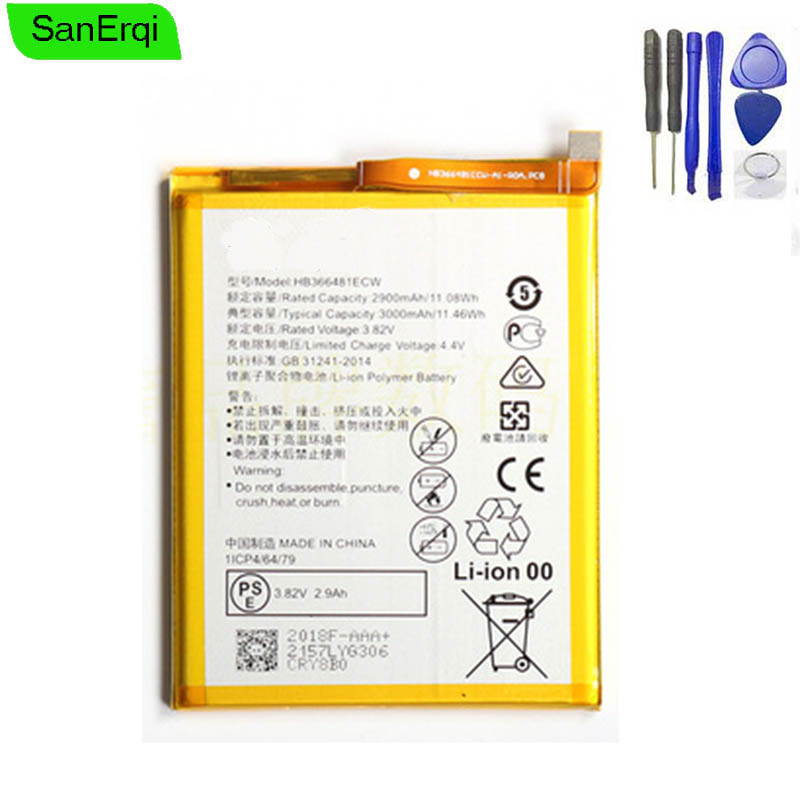 HB366481ECW-11 Battery For Huawei Y6 Prime ATU-L30 ATU-L31 ATU-L42 2018 New Battery Replacement