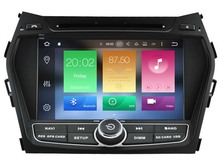 Octa(8)-Core Android 6.0 CAR DVD player FOR HYUNDAI IX45 2013/SANTA FE 2013 car audio gps stereo head unit Multimedia navigation