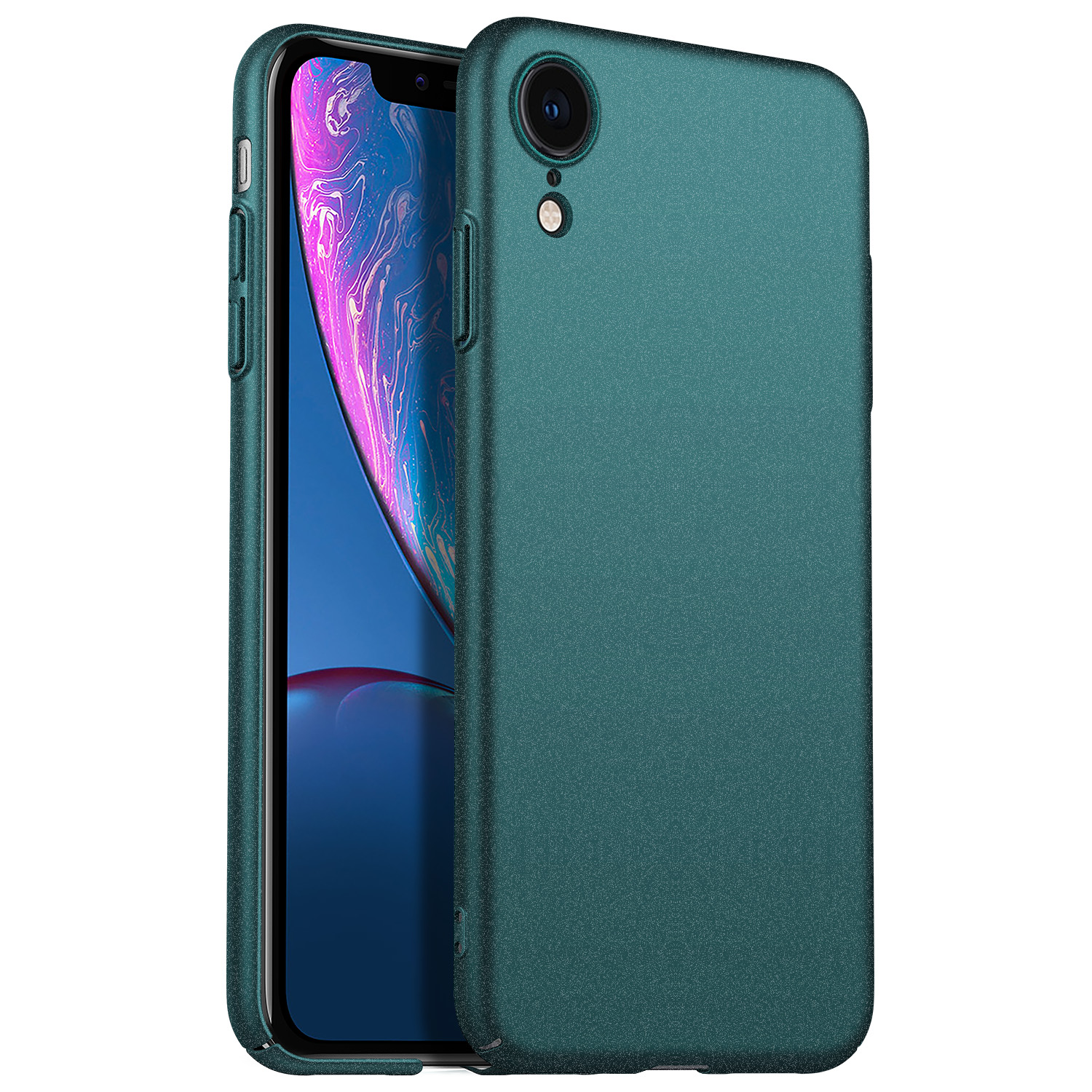 For Apple iPhone XR Case, Ultra-Thin Minimalist Slim Protective Phone Case Back Cover For iPhone XR 6.1 inch