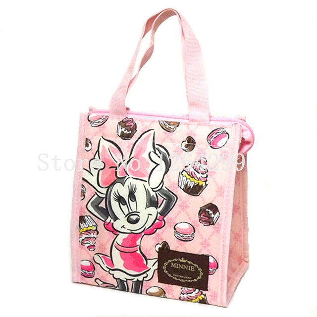 New Fashion Minnie And Daisy Duck S Woman Oxford Aluminum Foil Theraml Cooler Bags Kids Lunch
