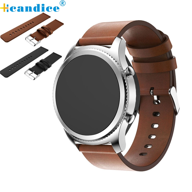 2017 Fashion Low Price Hot Sale OTOKY Replacement Leather Watch Bracelet Strap Band For Samsung Gear S3 Frontier wholesale No29  hot sale rubber silicone bracelet strap watch band for samsung gear s3 frontier high quality watchband replacement