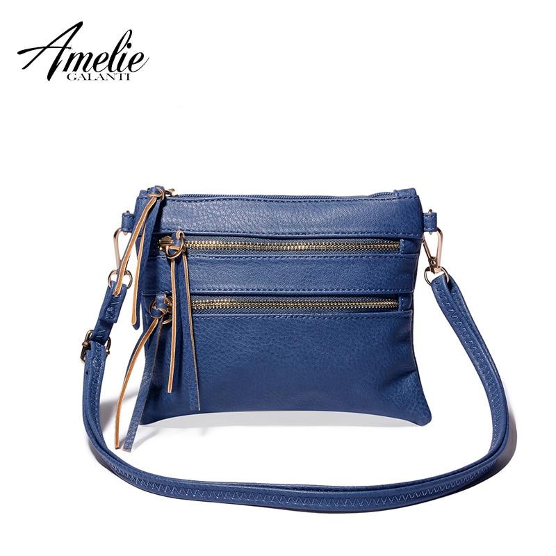 AMELIE GALANTI fashion women crossbody bags wallets high quality pu casual bag s