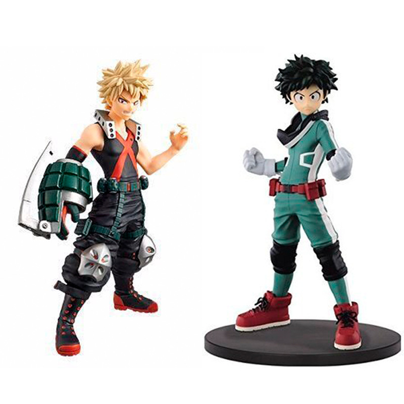 JHACG 16cm My Hero Academia bakugou katsuki Midoriya Izuku Action figure toys doll Christmas gift with box все цены